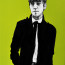 Dean Waite - Sold: 'Rude Boy', an illustration of a Londoner (Black biro and spray paint on paper)
