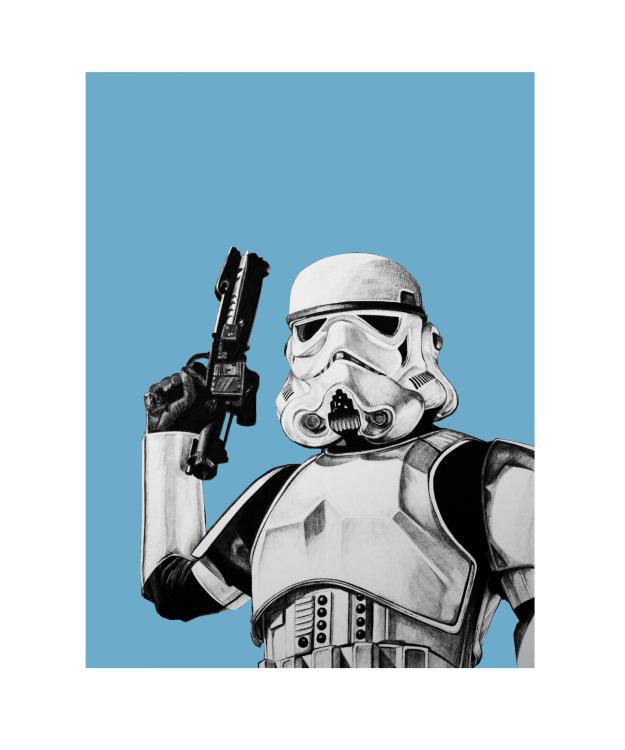 Dean Waite - Star Wars illustrations for Cross Pens